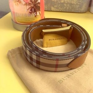 MENS BURBERRY BELT